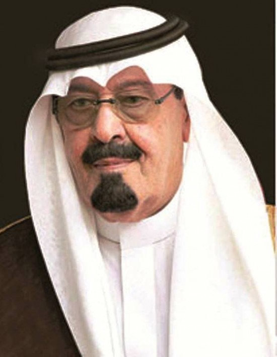 King Abdullah, in better health. - king-abdullah
