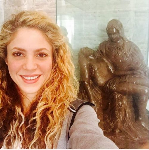 10 Arab celebrities wh... Shakira Instagram