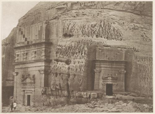 Ruin city of al-Hijr, 1914