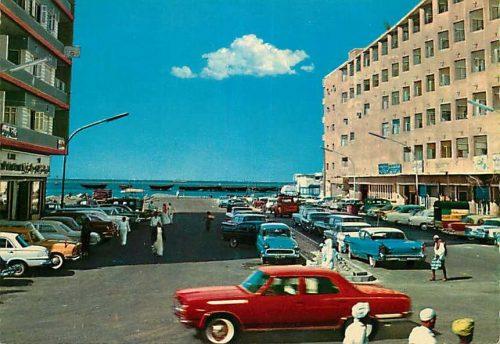 postcard-street-scene-in-jeddah,-saudi-arabia-circa-1960s_361376251964